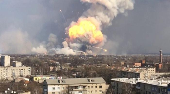 Пожар Балаклея