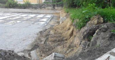 Казус при строительстве спортивной площадки в Балаклее