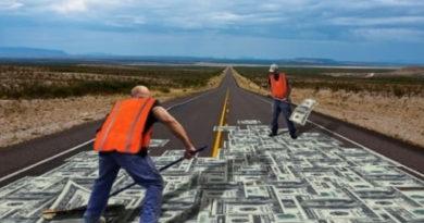 Деньги за ремонт дорог в Харьковской области
