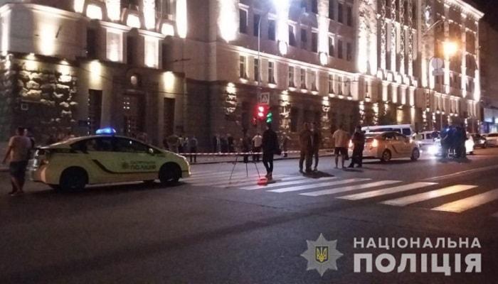 В результате перестрелки возле горсовета Харькова погибли два человека