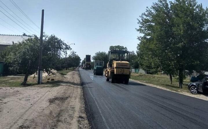 Закінчено ремонт ділянки в смт Андріївка