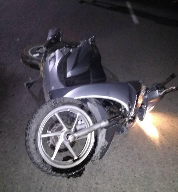 ДТП в Балаклее: водитель скутера разбился насмерть, мотоциклист в больнице