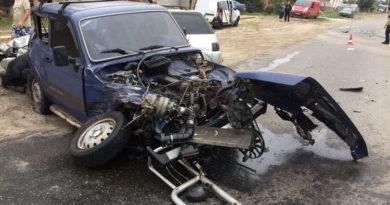 ДТП в Змиеве: столкновение грузовика и двух легковушек