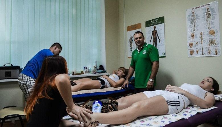 курсы массажа «Лотос» в Харькове