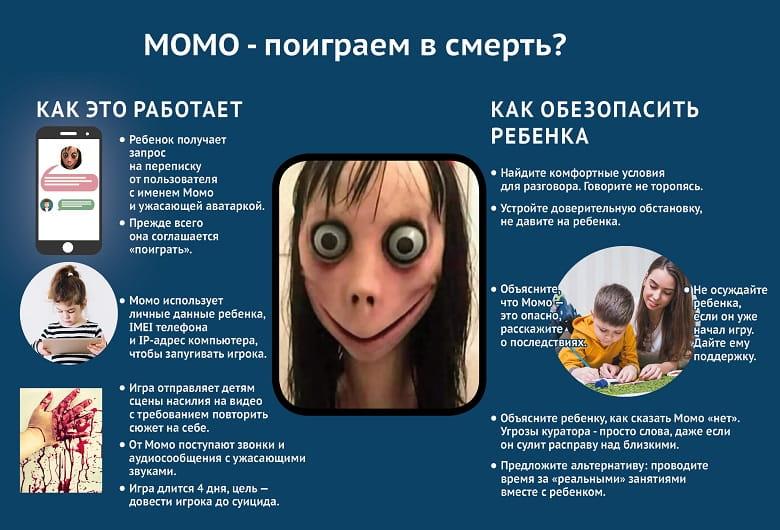 игра МОМО