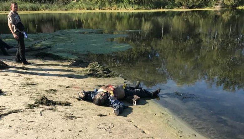 Зверское убийство в пгт. Андреевка, - ФОТО, ВИДЕО