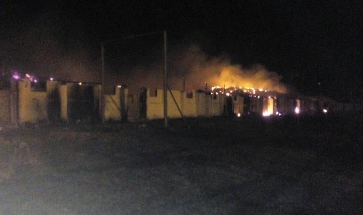По факту пожара на складах агропредприятия в Харьковской области открыто уголовное производство