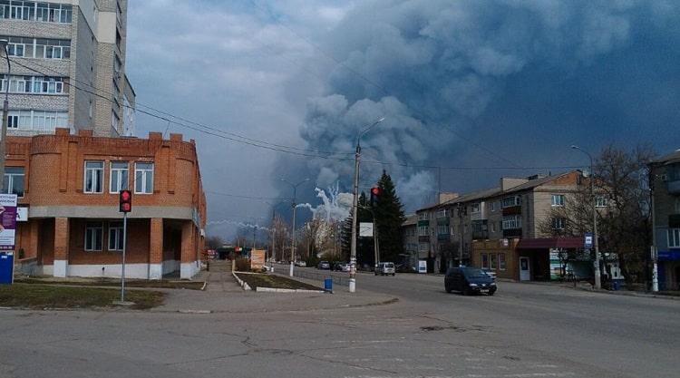 Пожар на арсенале в Балаклее и растрата средств