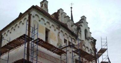 В Шаровском замке начат капитальный ремонт