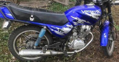 В Балаклейском районе задержан парень за кражу мотоцикла