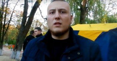 Національний корпус України у місті Балаклі