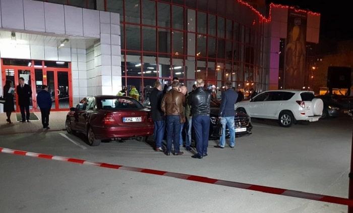 "Стрельба возле спортклуба: ранен глава юридической компании ""Легион"""