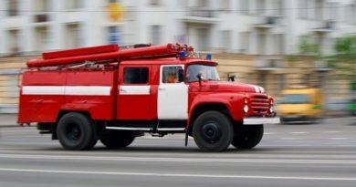 Во время пожара из харьковского общежития эвакуировали более 70 человек