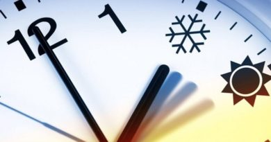Перевод часов на зимнее время 2018