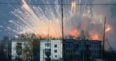 """За взрывы на военных складах ответили только """"стрелочники"""""""