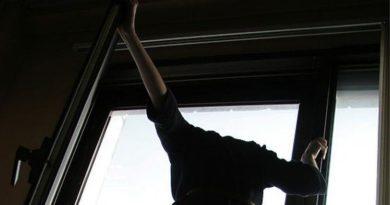 главное выпрыгнула из окна
