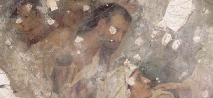 уникальная фреска