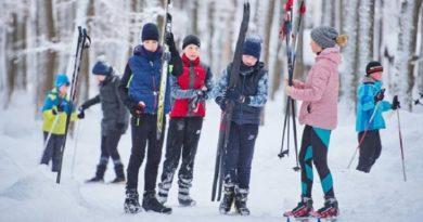 лыжный соревнованиее