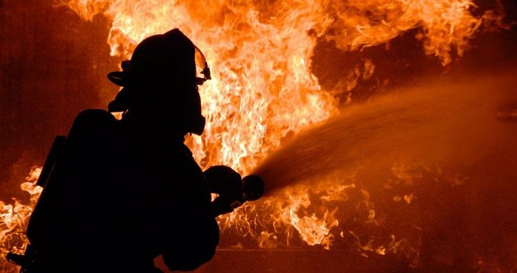 пожар в купянске