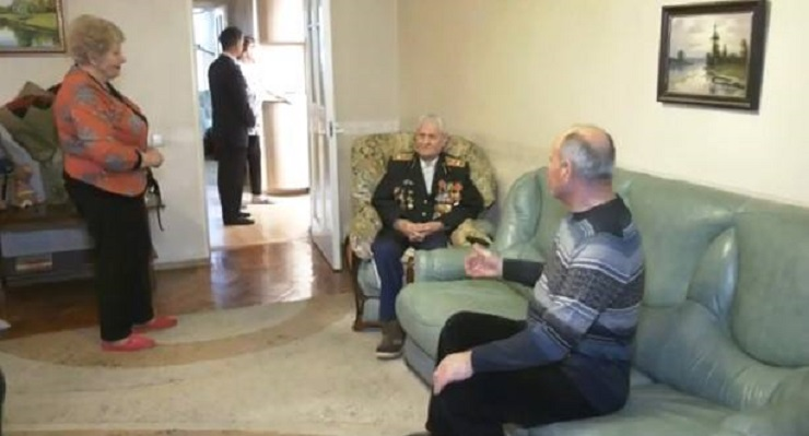 105 лет деду