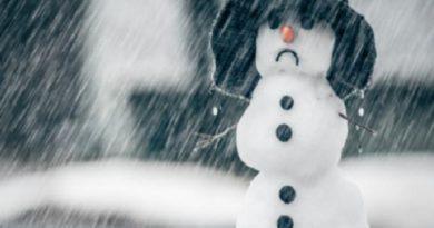 снегопадики и дождик