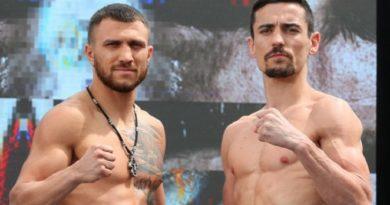 Ломаченко нокаутировал Кроллу в 4 раунде