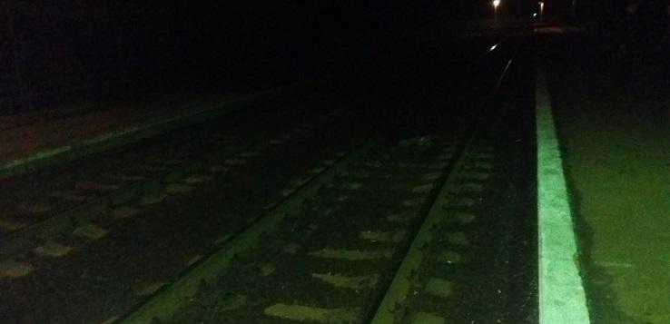 попал под поезд