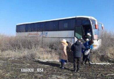 автобус з пасажирами вилетів з траси