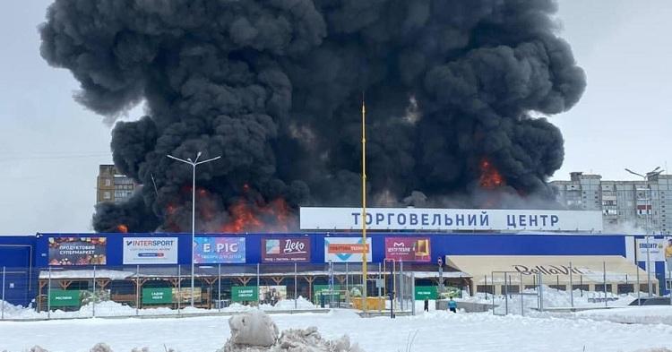 Масштабна пожежа
