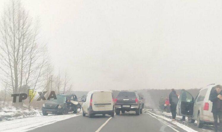 На трассе Мерефа-Змиев серьезное ДТП
