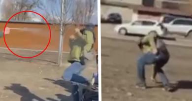 чоловік побився з підлітком