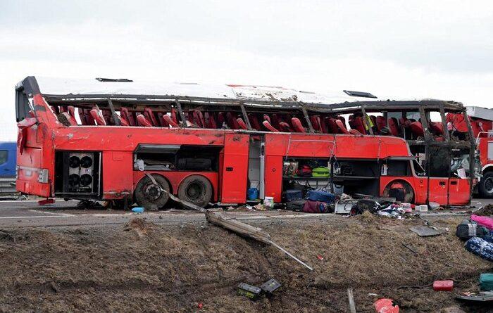 Автобус с украинцами разбился в Польше, есть погибшие