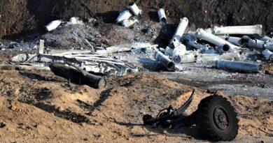 У вибухах на арсеналі в Балаклії підозрюють ексмайора ЗСУ