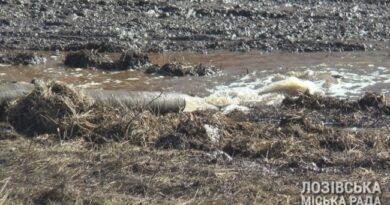 На водопроводе в Лозовой произошла новая авария