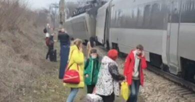 Поезд «Киев-Запорожье»