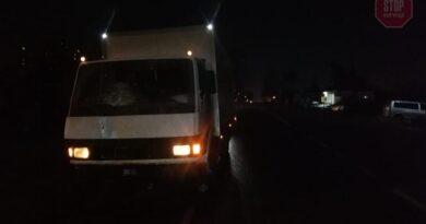 грузовик насмерть сбил пожилого человека