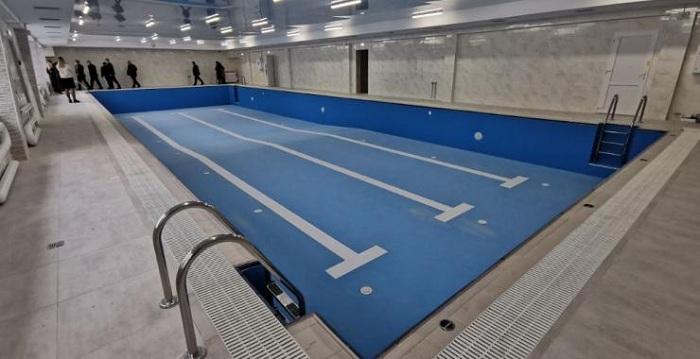 новий басейн
