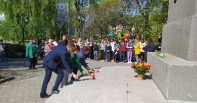 В Балаклії вшанували пам'ять загиблих під час Другої світової війни