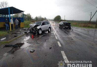 Под Харьковом в результате лобового столкновения автомобилей погиб пассажир