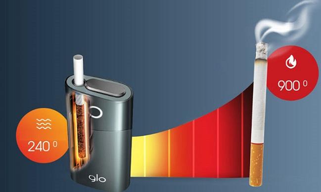 Новая система нагрева табака