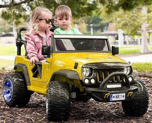 Детский электромобиль джип